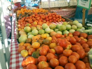 Sonora's Farmers Market @ theall and stewart street sonora, ca 95370