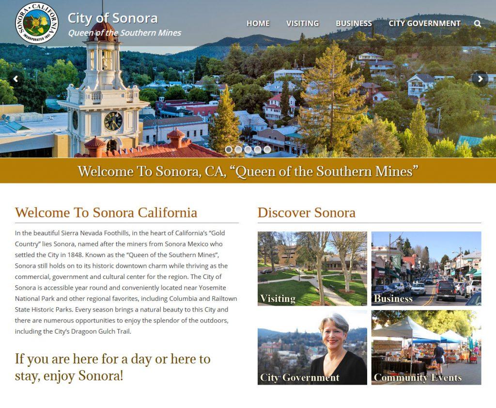 City of Sonora Website
