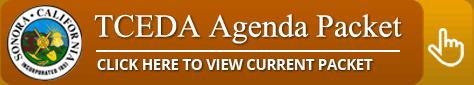 TCEDA agenda
