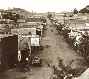 Downtown Sonora California 1866